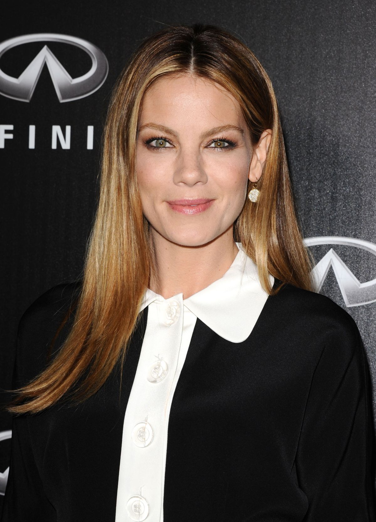 MICHELLE MONAGHAN at Infiniti of Beverly Hills Opening
