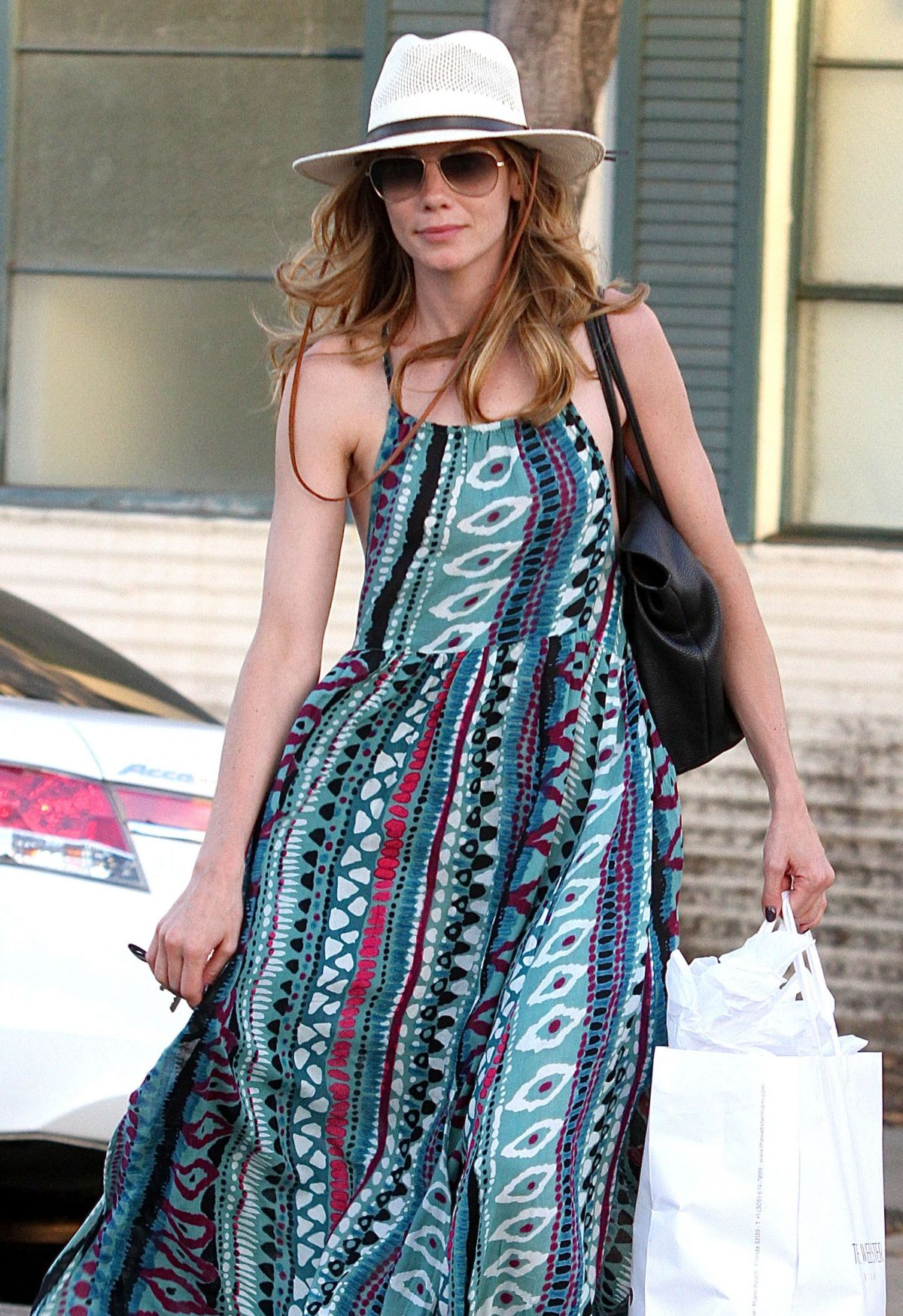 Watch Michelle monaghan shopping in beverly hills video