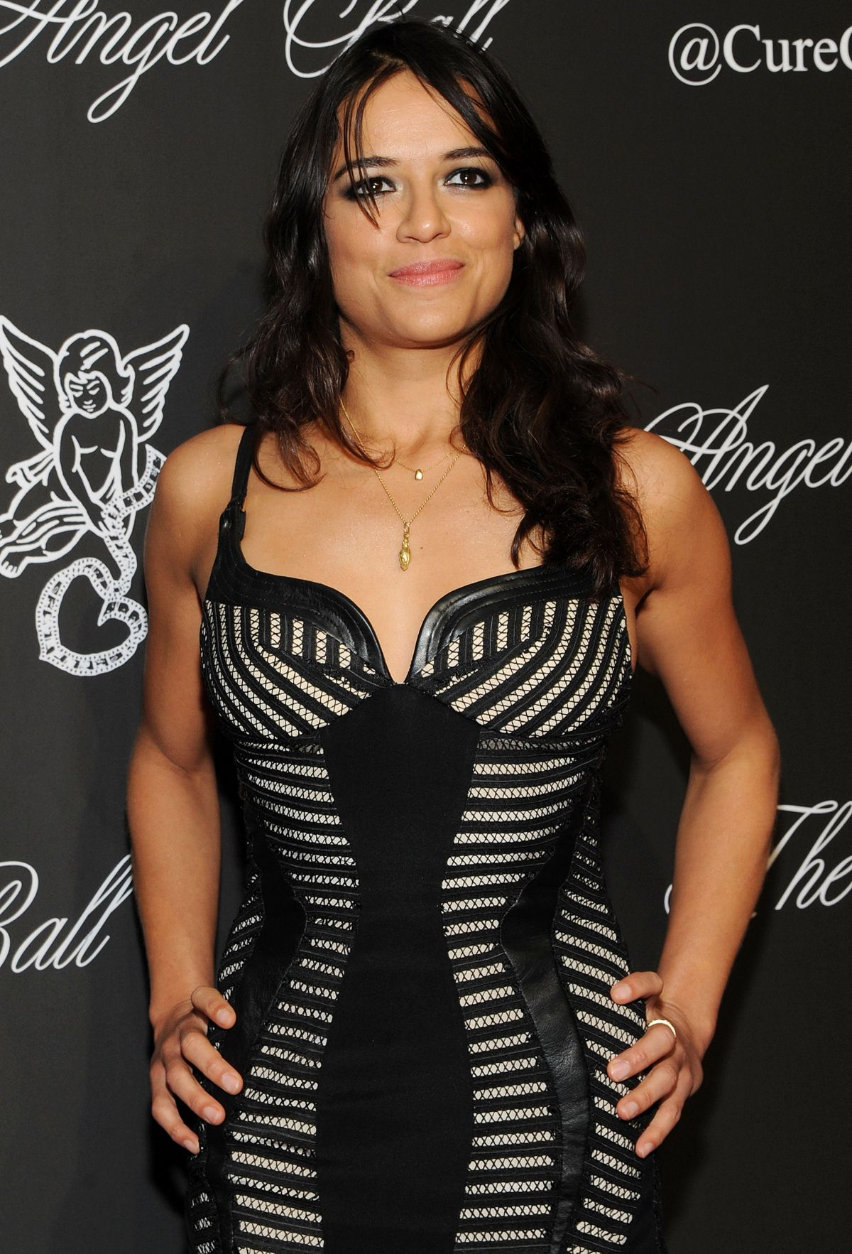 MICHELLE RODRIGUEZ at Angel Ball 2014 in New York