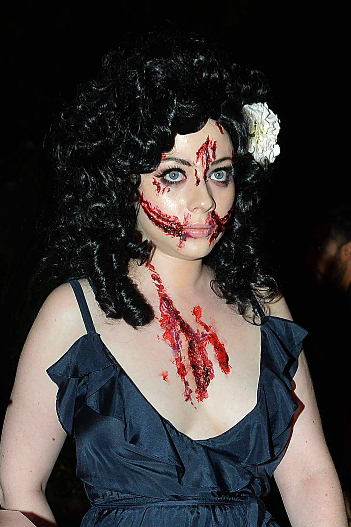 MICHELLE TRACHTENBERG at a Halloween Party in Beverly Hills