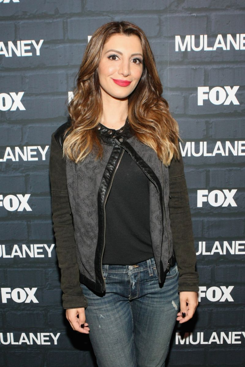 NASIM PEDRAD at Mulaney Comedy Showcase in New York
