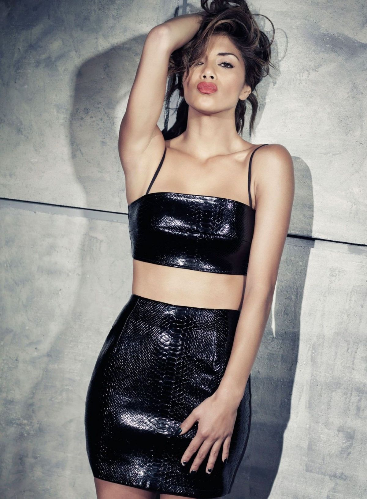 NICOLE SCHERZINGER - Missguided Collection Photoshoot - HawtCelebs ...