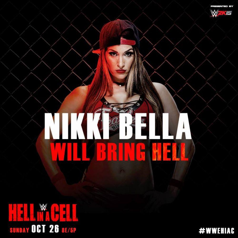 NIKKI BELLA – WWE Hell in a Cell 2014 PPV Promo - HawtCelebs  NIKKI BELLA –...