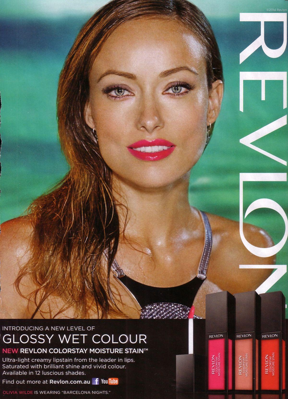 OLIVIA WILDE - Revlon Ad - HawtCelebs - HawtCelebs