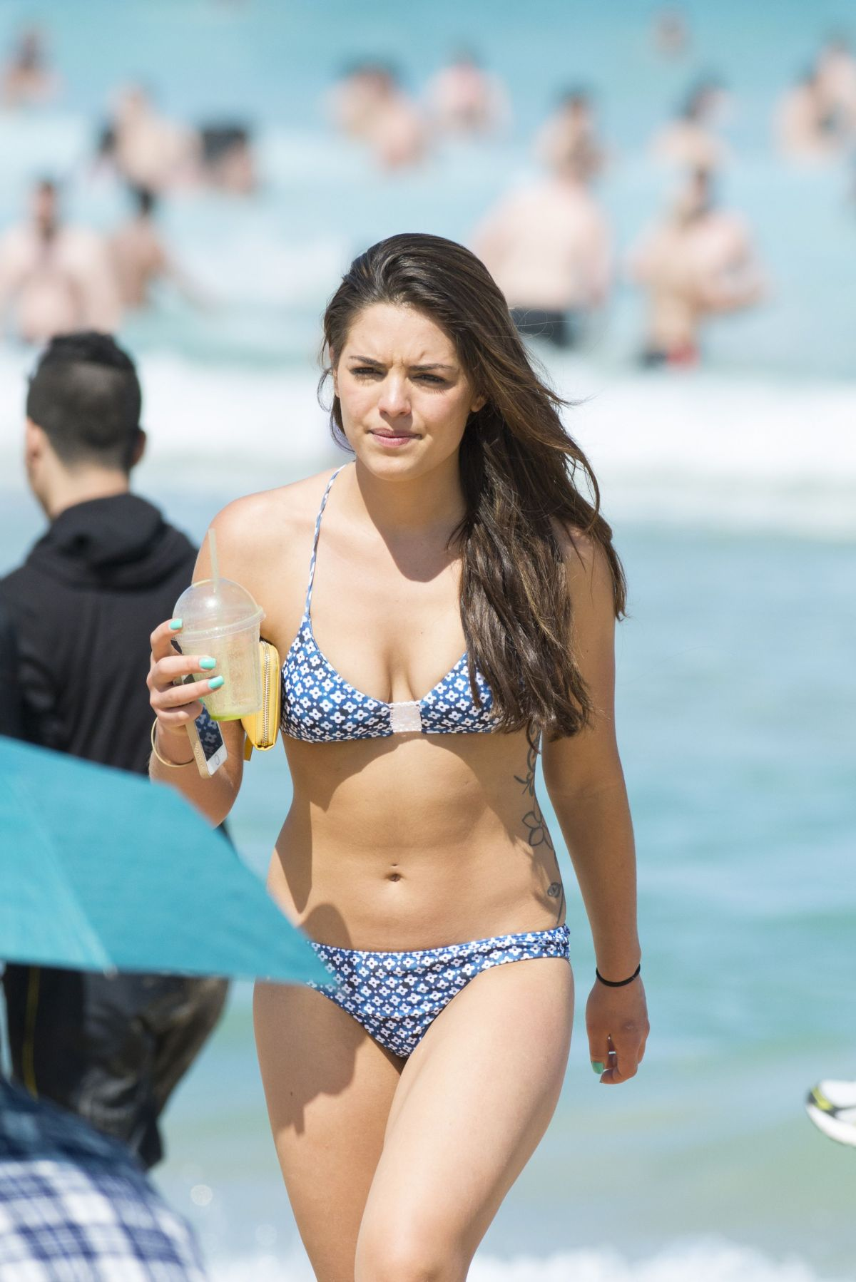 OLYMPIA VALANCE in Bikini on the Bondi Beach