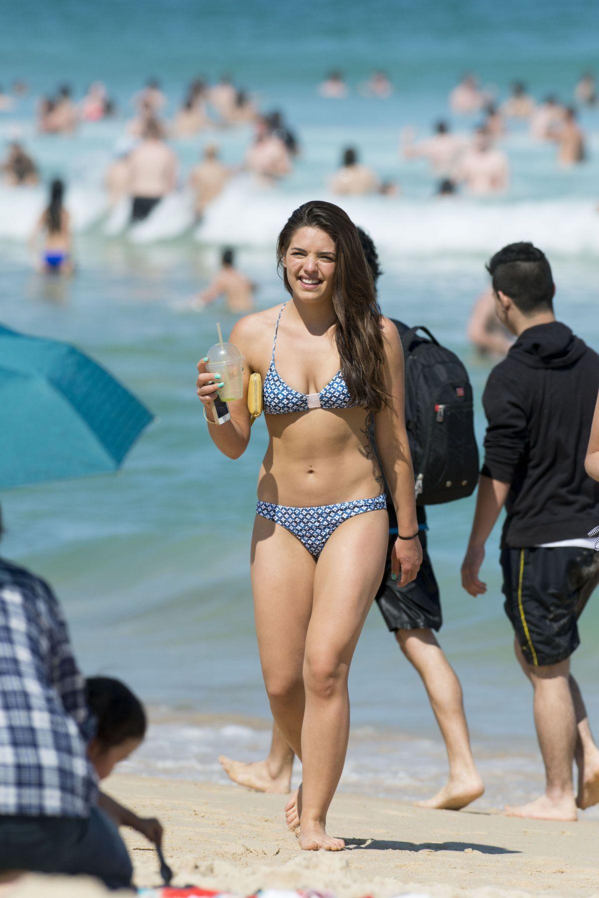 OLYMPIA VALANCE in Bikini on the Bondi Beach - HawtCelebs