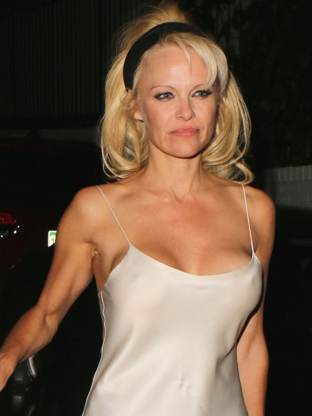 PAMELA ANDERSON Arrives at Chateau Marmont in West Hollywood 0210 Pamela Anderson