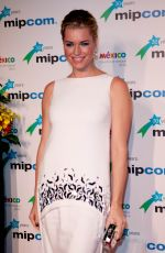 REBECCA ROMIJN at Mipcom Opening Party in Cannes