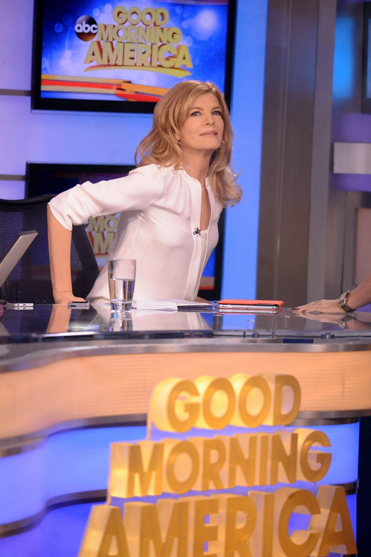 Good Morning America New York : Rene russo at good morning america in new york hawtcelebs