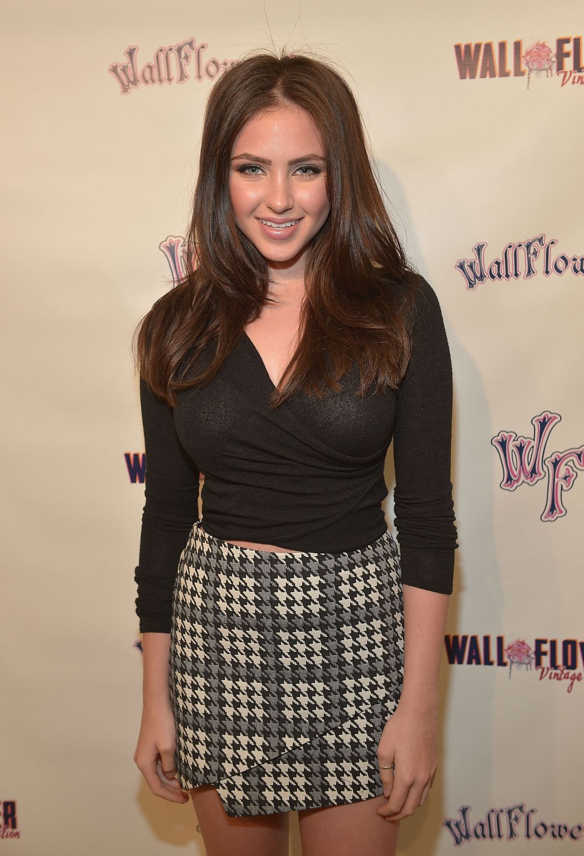RYAN NEWMAN at Wallflower Jeans Fashion Night Out in Los Angeles