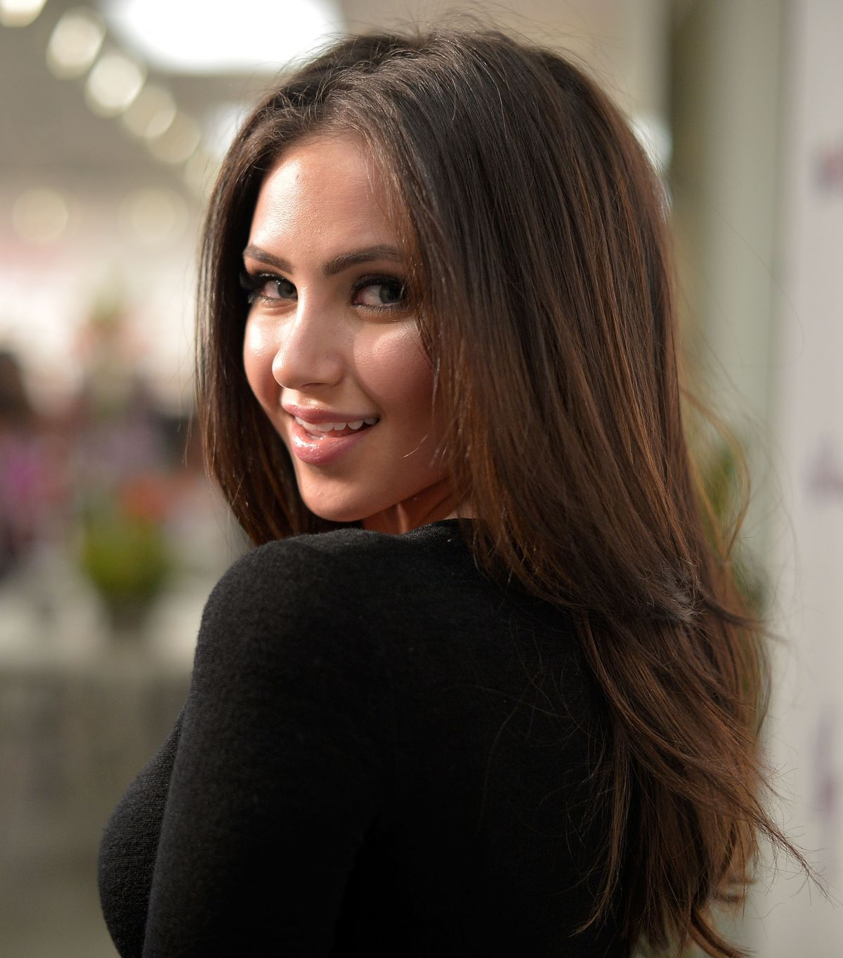 RYAN NEWMAN at Wallflower Jeans Fashion Night Out in Los ...  Ryan Whitney Newman 2014