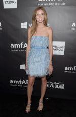 SHIARA FERRAGNI at 2014 Amfar LA Inspiration Gala in Hollywood