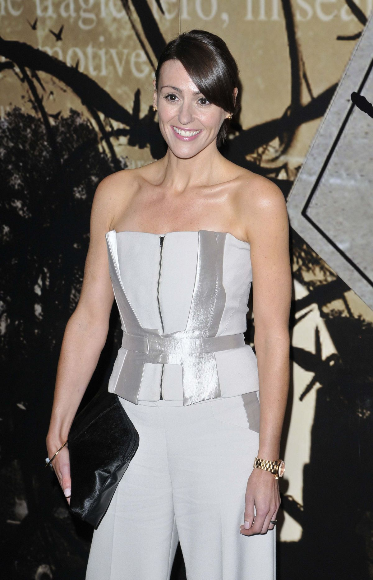 SURANNE JONES at Specsavers Crime Thriller Awards in London