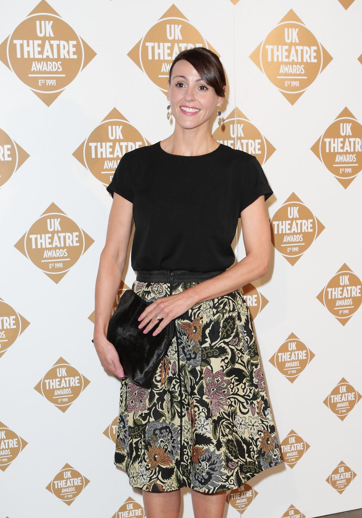 SURANNE JONES at UK Theatre Awards 2014 in London