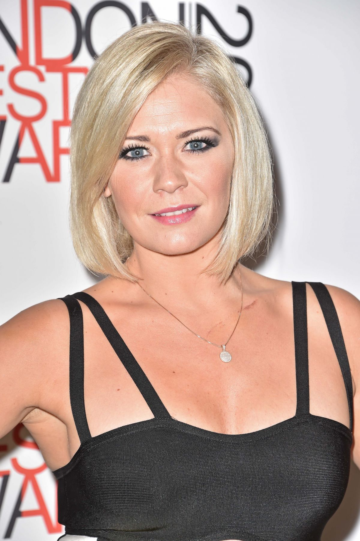 SUZANNE SHAW at London Lifestyle Awards 2014