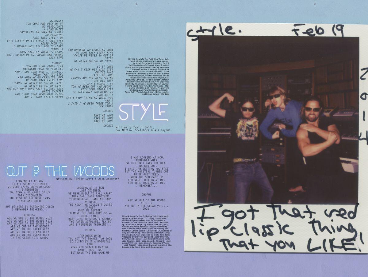 Taylor swift reputation booklet 6 | richard harris | flickr.