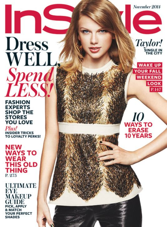 TAYLOR SWIFT in Instyle Magazine, November 2014 Issue - HawtCelebs ...