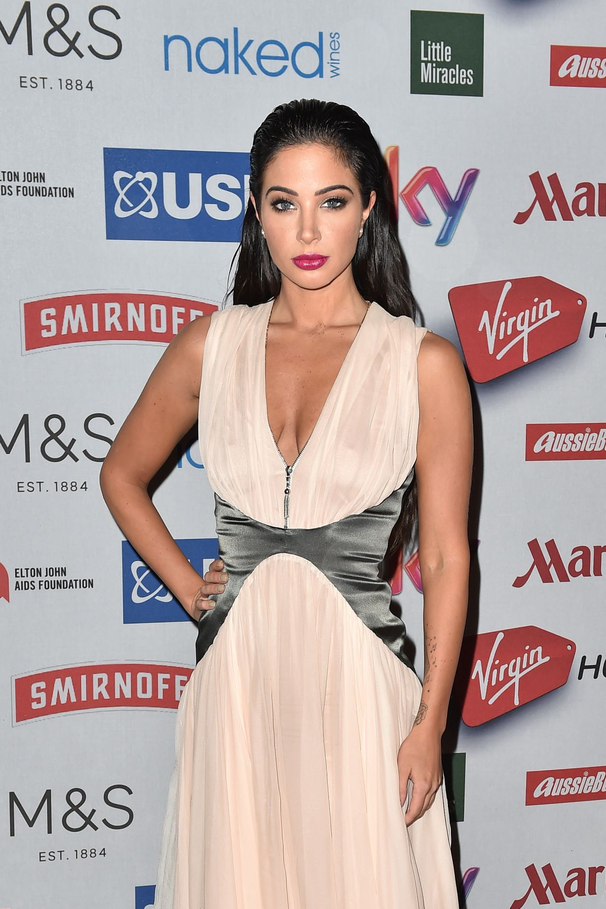 TULISA CONTOSTAVLOS at Attitude Awards 2014 in London