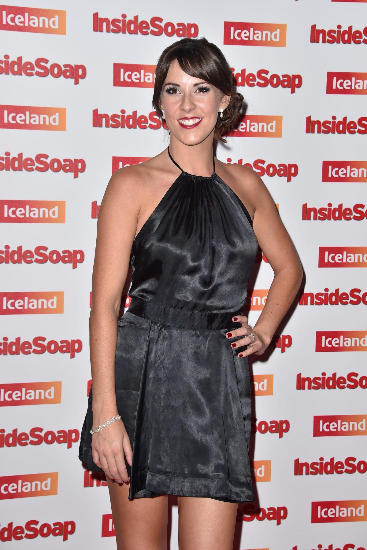VERITY EUSHWORTH at Inside Soap Awards in London