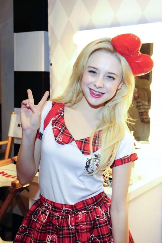 ALESSANDRA TORRESANI at Hello Kitty Beauty Shop