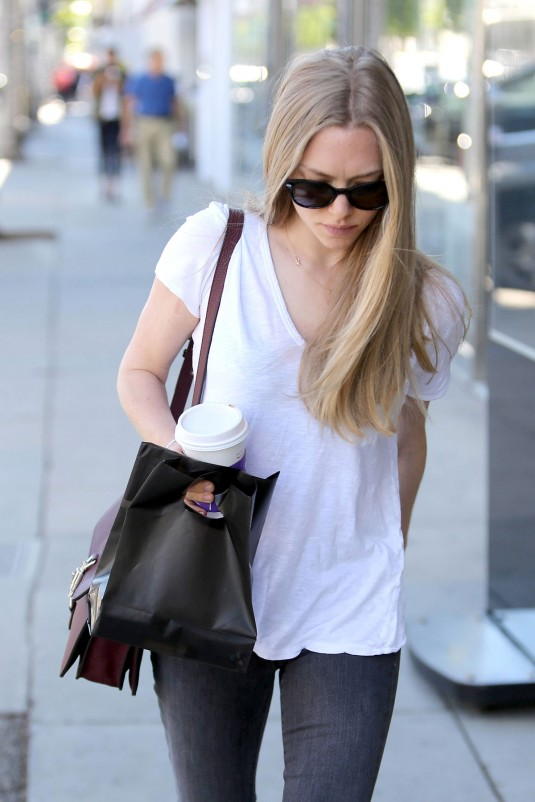 AMANDA SEYFRIED Out in Beverly Hills