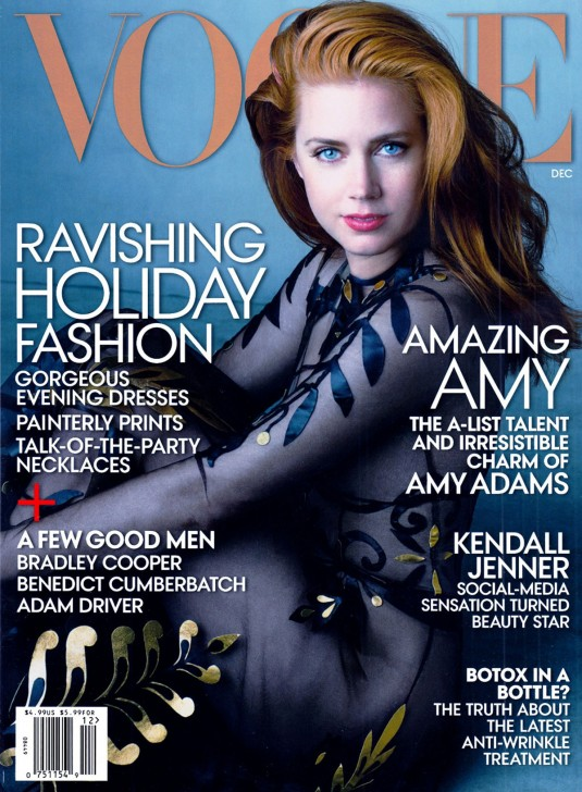 AMY ADAMS in Vogue Magazine
