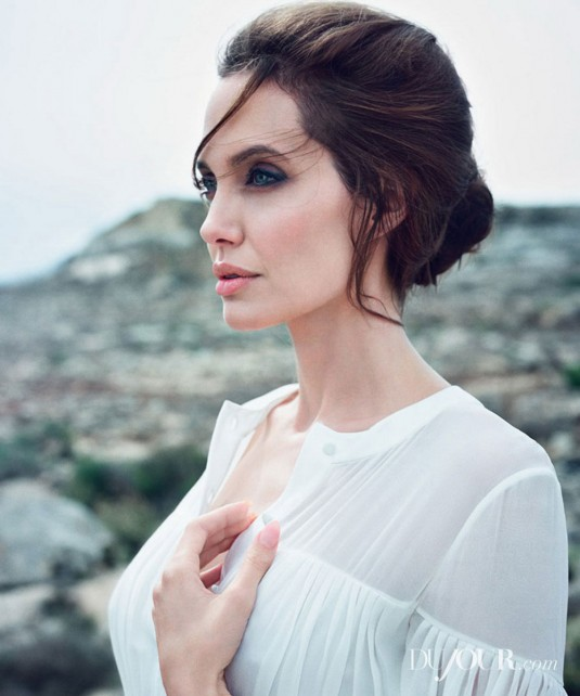 ANGELINA JOLIE for DUJour