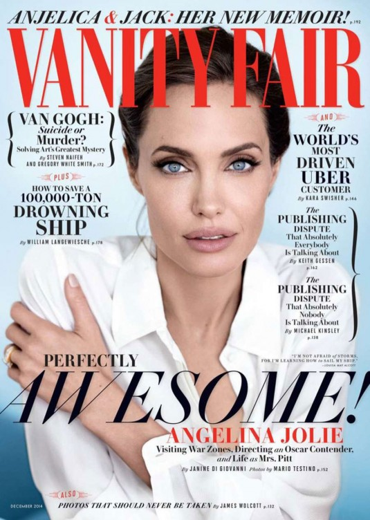 ANGELINA JOLIE on the Cover of Vanity Fair Magazine