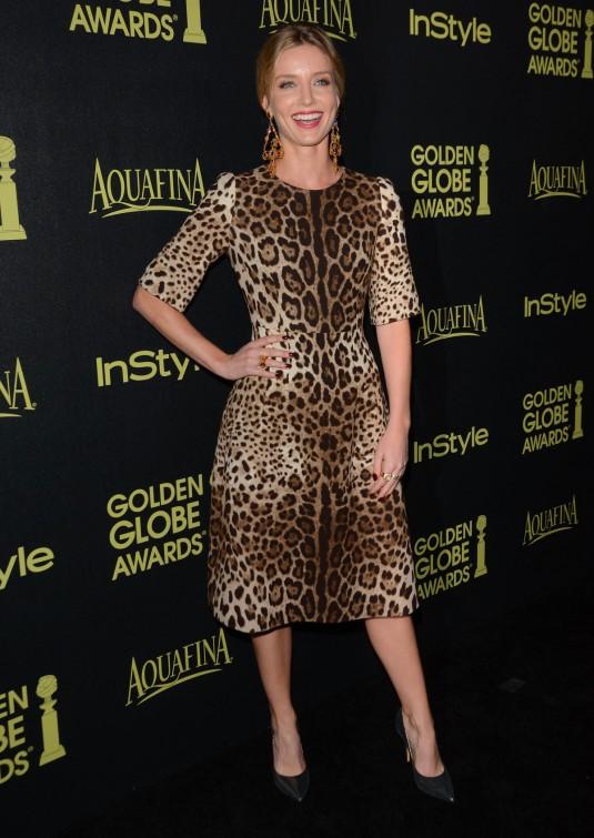 ANNABELLE WALLIS at Golden Globe Award Season Celebration