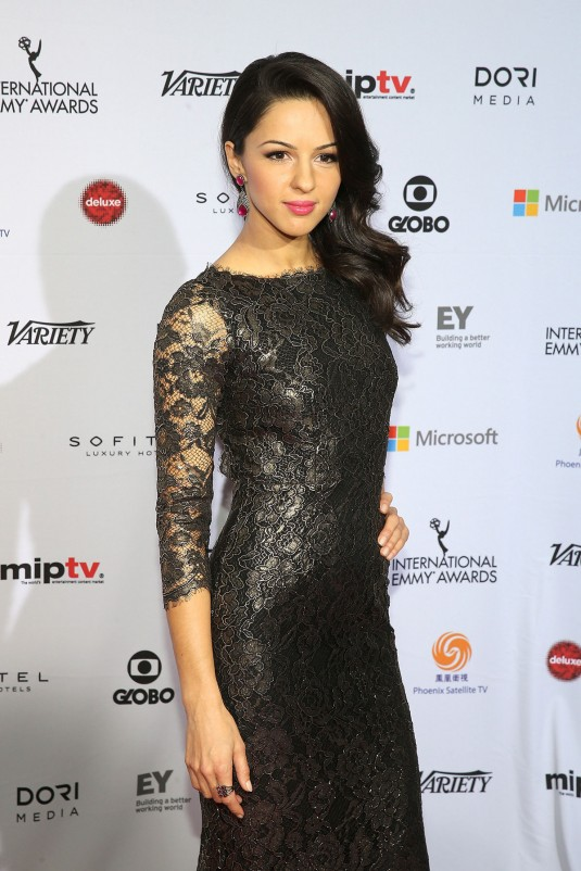 ANNET MAHENDRU at International Academy of Television Arts & Sciences Emmy Awards