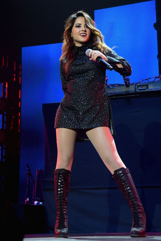 BECKY G Performs at Iheartradio Fiesta Latina Festival 2014