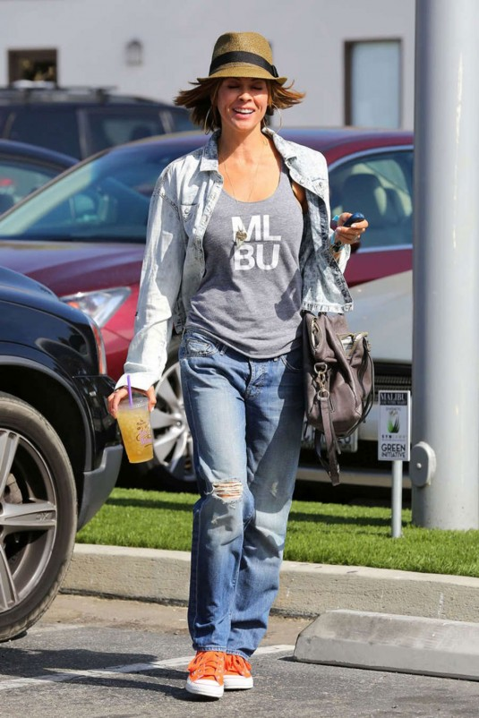 BROOKE BURKE Leaves Coffee Bean