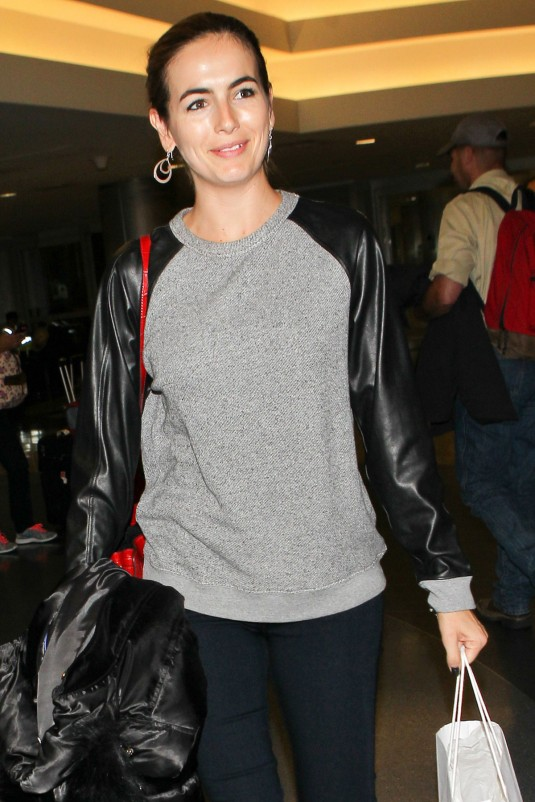 CAMILLA BELLE at LAX Airport
