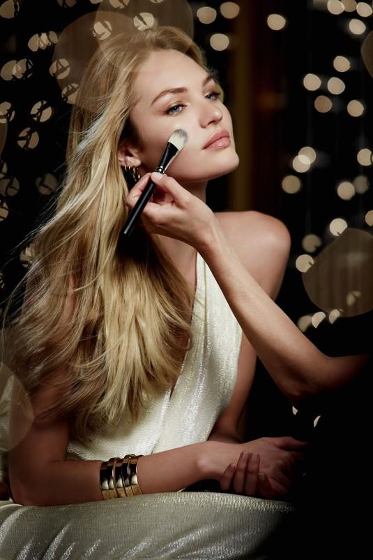 CANDICE SWANEPOEL - Max Factor Christmas Photoshoot