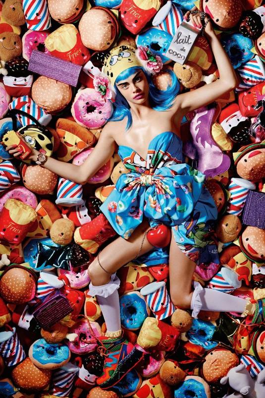 CARA DELEVINGNE in Love Magazine