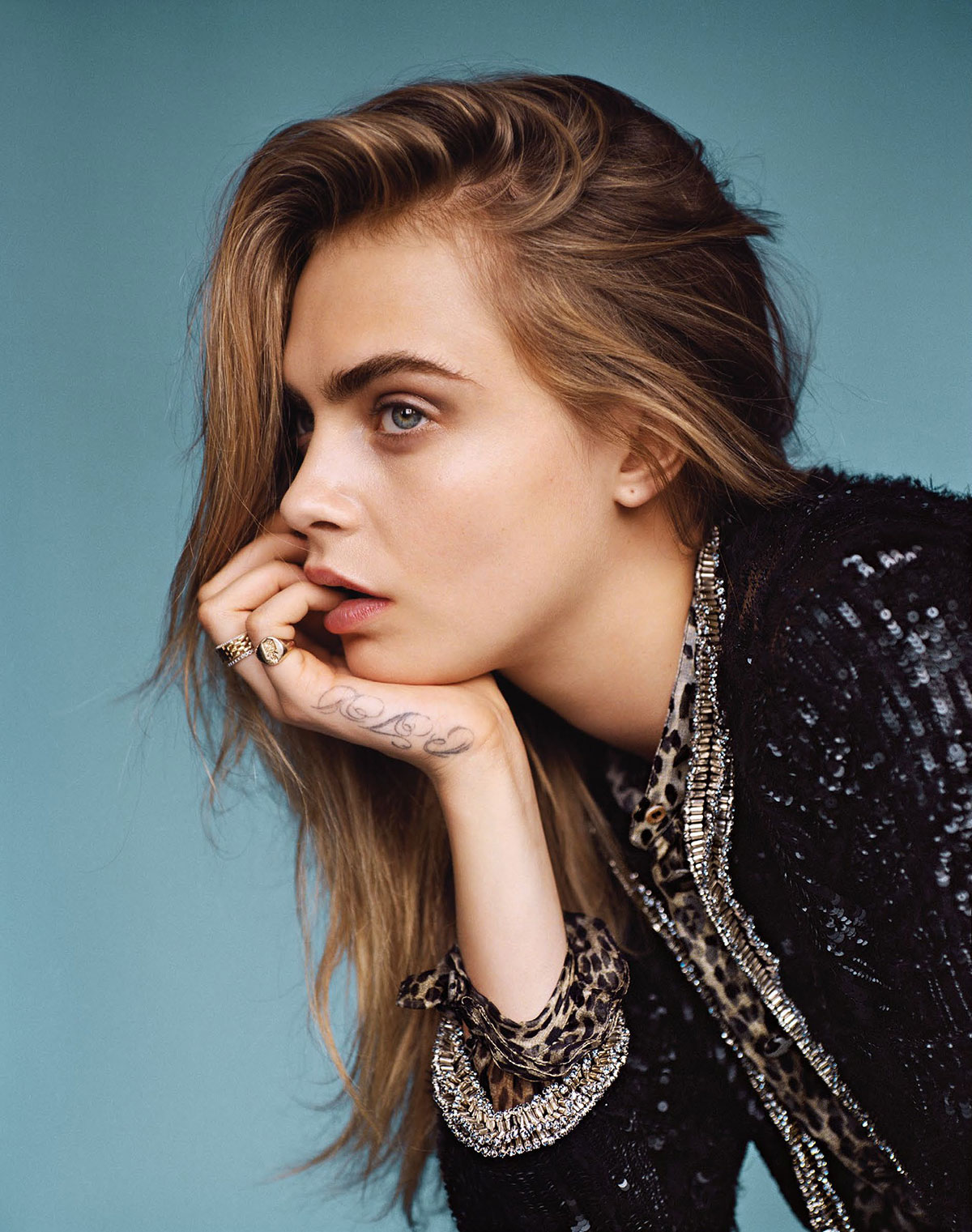 CARA DELEVINGNE – Vogue Magazine Photoshoot - HawtCelebs