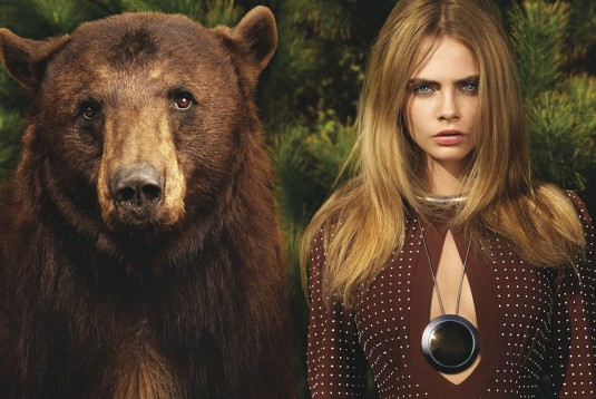 CARA DELEVINGNE for Vogue Magazine