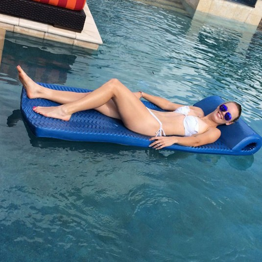 CAROLINE WOZNIACKI in Bikini at Holiday in Bahamas