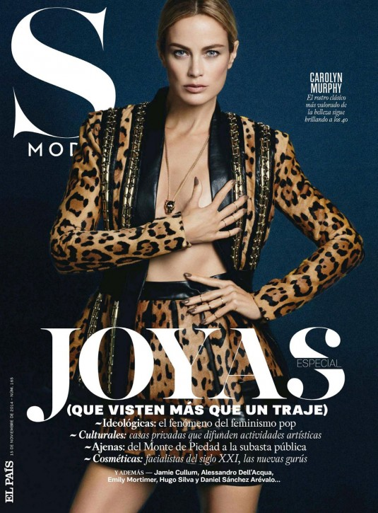 CAROLYN MARPHY in S Moda Magazine