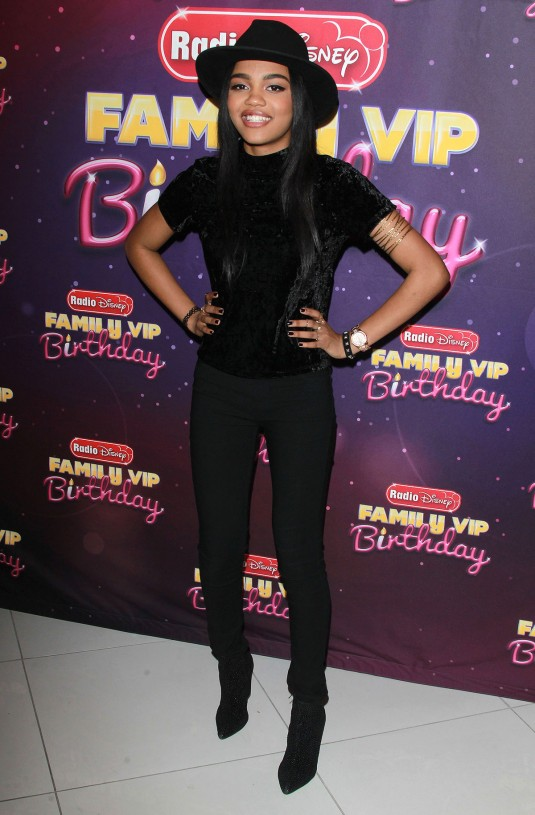 CHINA ANNE MCCLAIN at Radio Disney's Family VIP Birthday