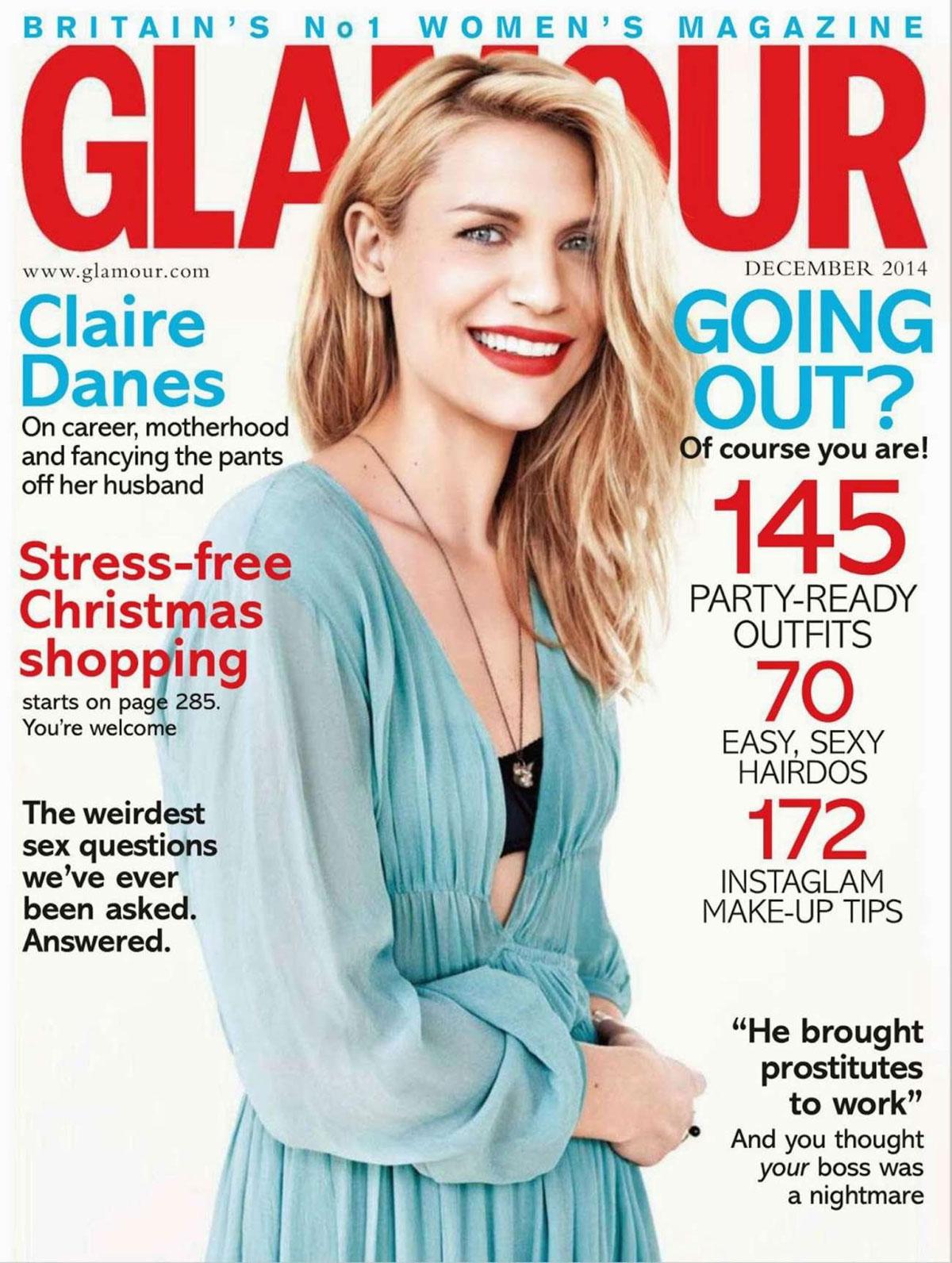 VICTORIA BECKHAM in Glamour Magazine, UK Autumn/Winter