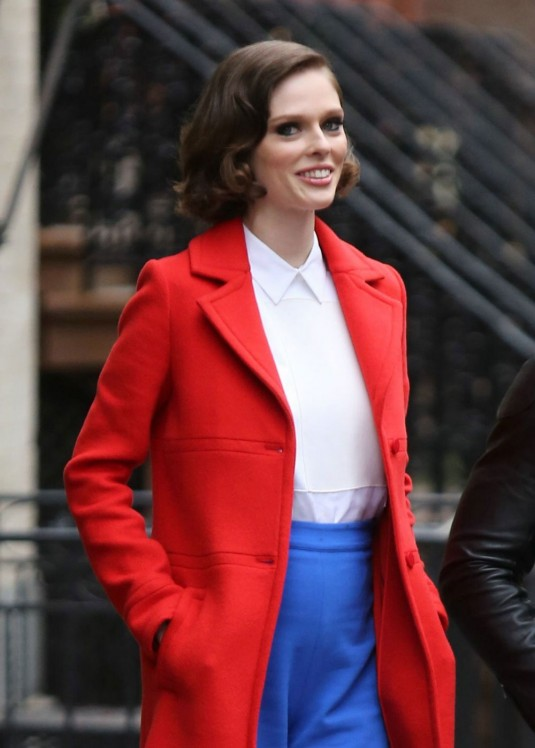 COCO ROCHA on the Set of The Face