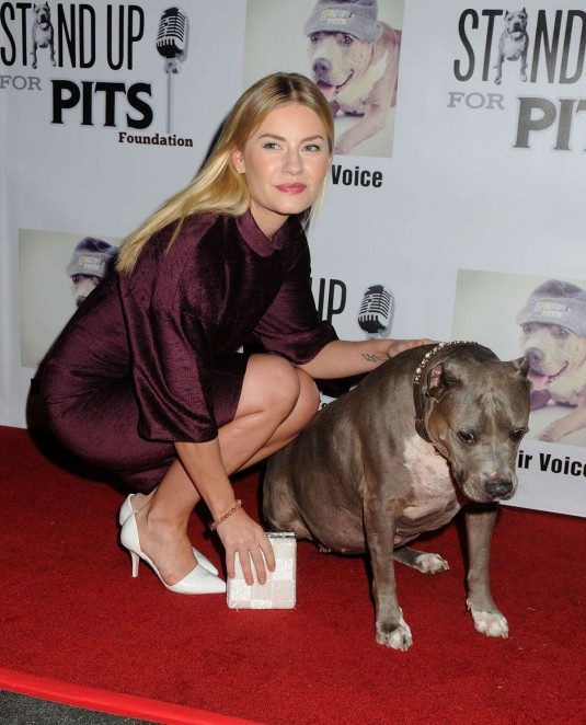 ELISHA CUTHBERT at 2014 Stand Up For The Pits