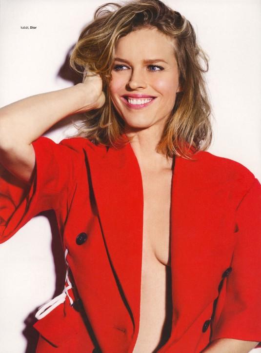 EVA HERZIGOVA in Harper's Bazaar Magazine
