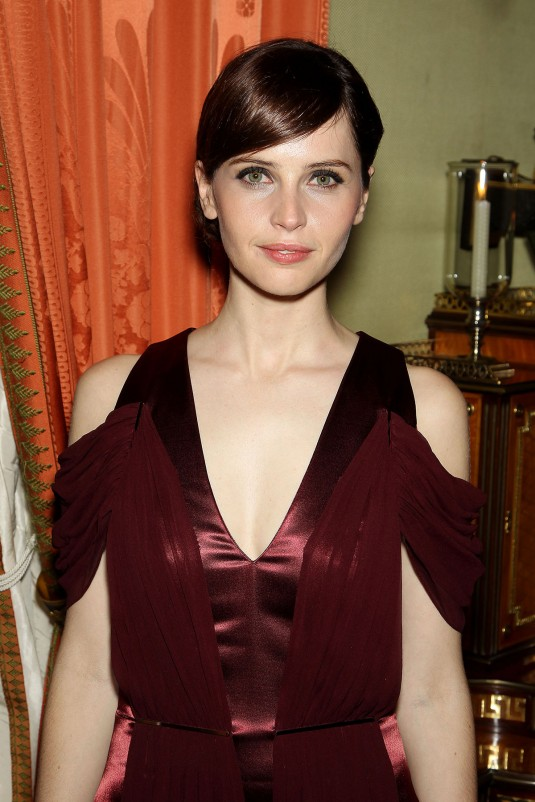 FELICITY JONES at Theory Of Everything Special Screening