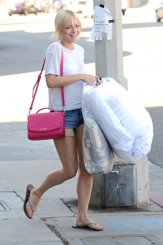 FRANCESCA EASTWOOD Out and About in West Hollywood