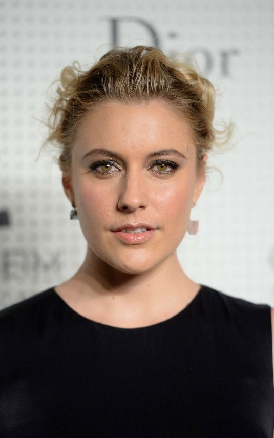 GRETA GERWIG at Guggenheim Young Collectors Party