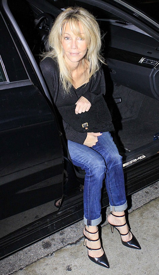 HEATHER LOCKLEAR Out in Beverly Hills