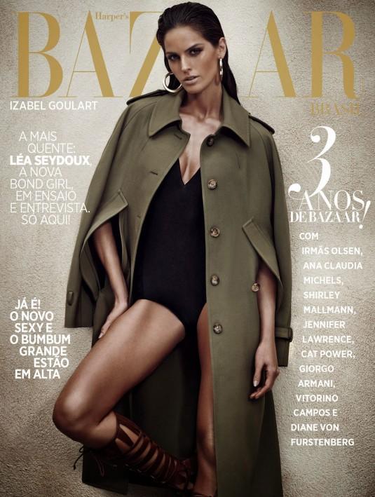 IZABEL GOULART in Harper's Bazaar Magazine