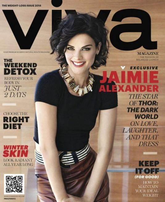 JAIMIE ALEXANDER in Viva Magazine, 2014